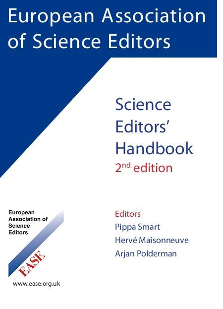 Science Editor's Handbook